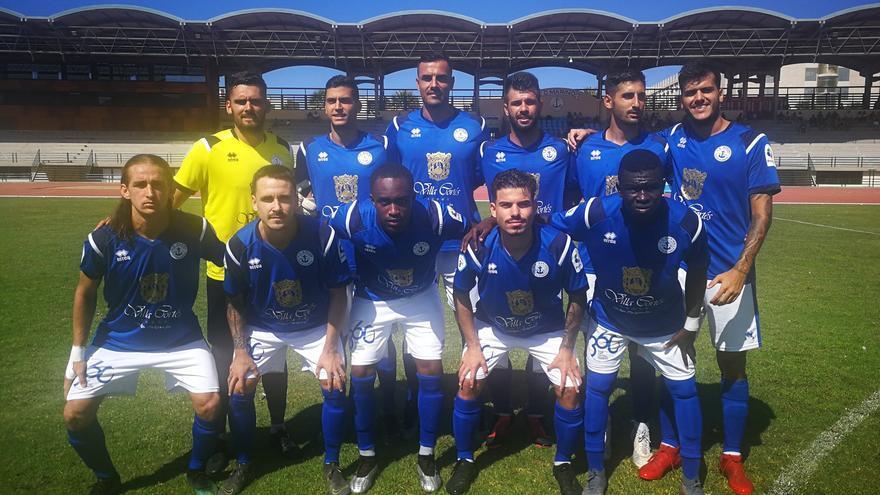 Formación del equipo de Quico de Diego frente al Atlético Paso