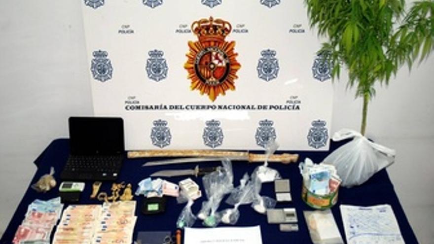 Droga Incautada En La Operación