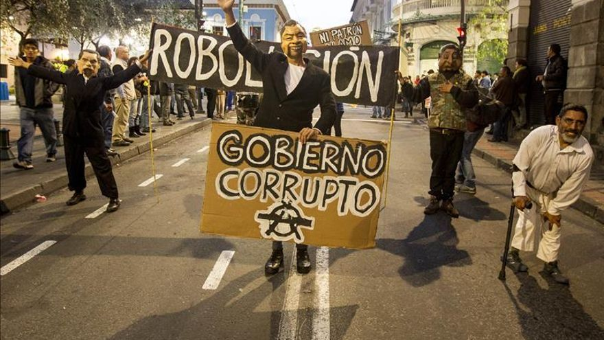 Sindicatos de Ecuador vuelven a las calles contra las enmiendas constitucionales