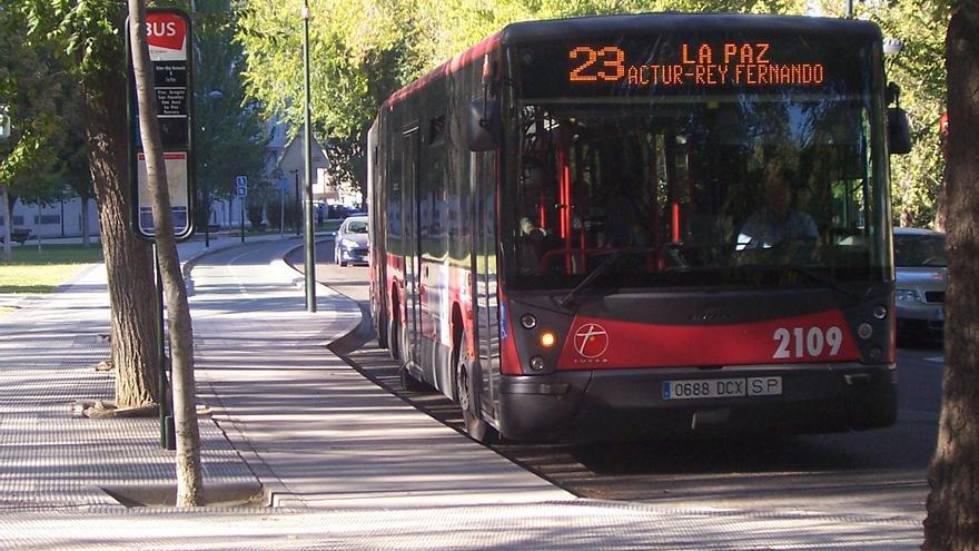 Desde UGT reclaman que aumente la eficiencia energética de los autobuses.