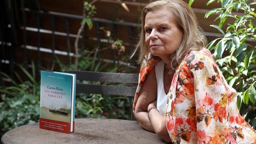 Carme Riera:Luis Salvador de Habsburgo me habló y empecé a escribir la novela