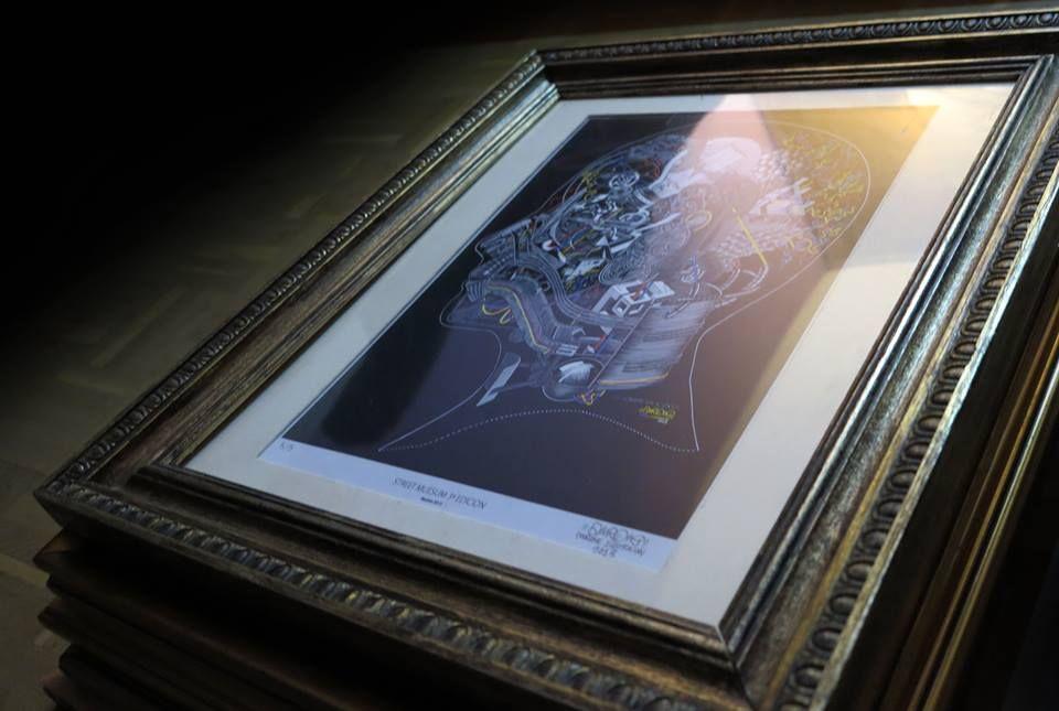 Una de las cinco obras que van a ser 'liberadas' hoy en Malasaña