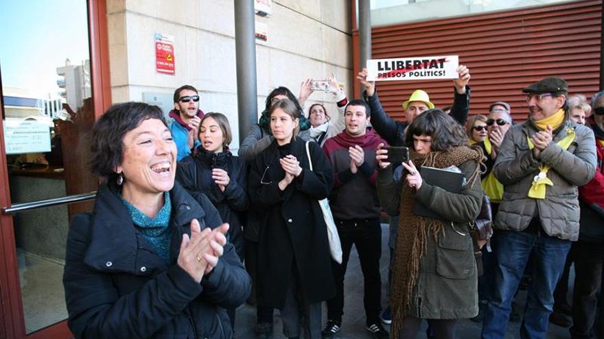 La concejal de la CUP de Reus queda libre tras negarse a declarar ante el juez
