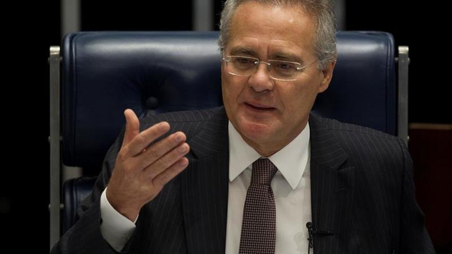 El Supremo acepta la denuncia por corrupción contra el jefe del Senado de Brasil