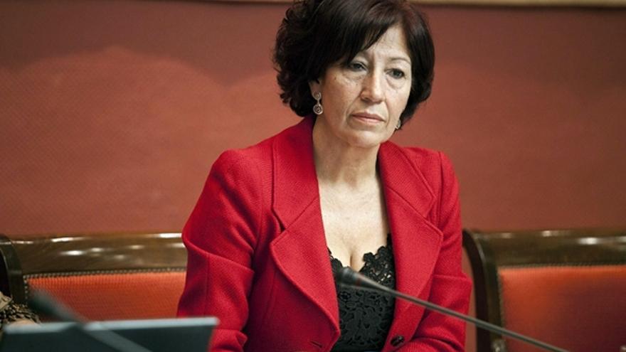 Inés Rojas, consejera de Cultura, Deportes, Políticas Sociales y Vivienda del Gobierno de Canarias.