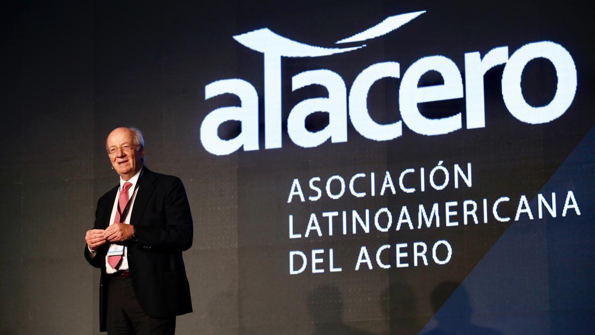 Rocca expone durante el Congreso de la Asociación Latinoamericana del Acero, en 2019. Su compañía cerró esta semana su capítulo en los cuadernos.