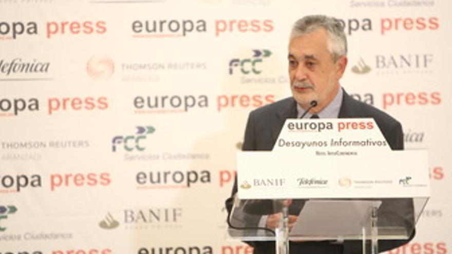 Presidente de Andalucía, José Antonio Griñán