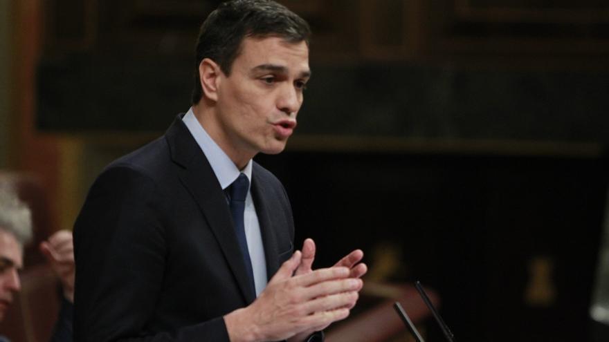 """Sánchez reivindica al PSOE como el """"gran partido del cambio"""" y pide """"unión"""" para ganar al PP"""