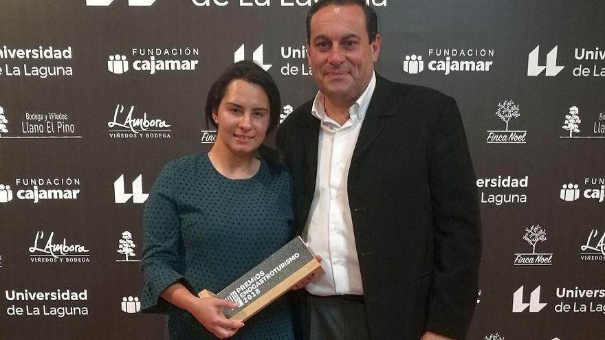Patricia Perdomo y Basilio Pérez.