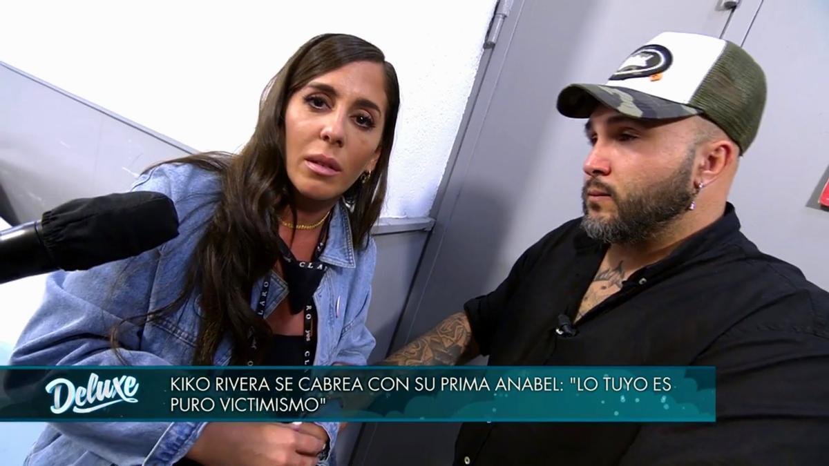 Anabel Pantoja y Kiko Rivera en 'Viernes Deluxe'