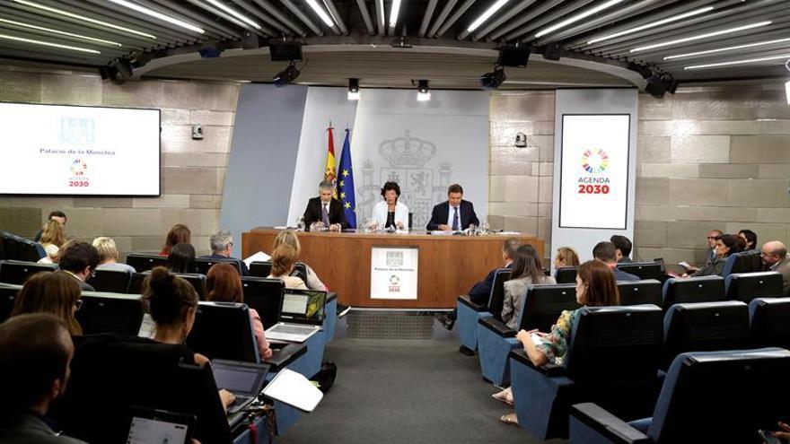 Rueda de prensa posterior a la reunión del Consejo de Ministros.