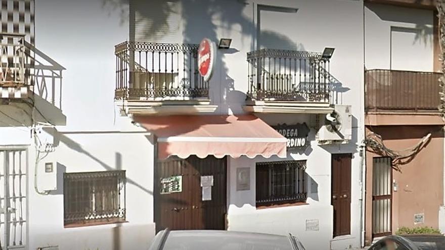 El bar de Aljaraque donde tuvo lugar la reunión que ha provocado la denuncia.