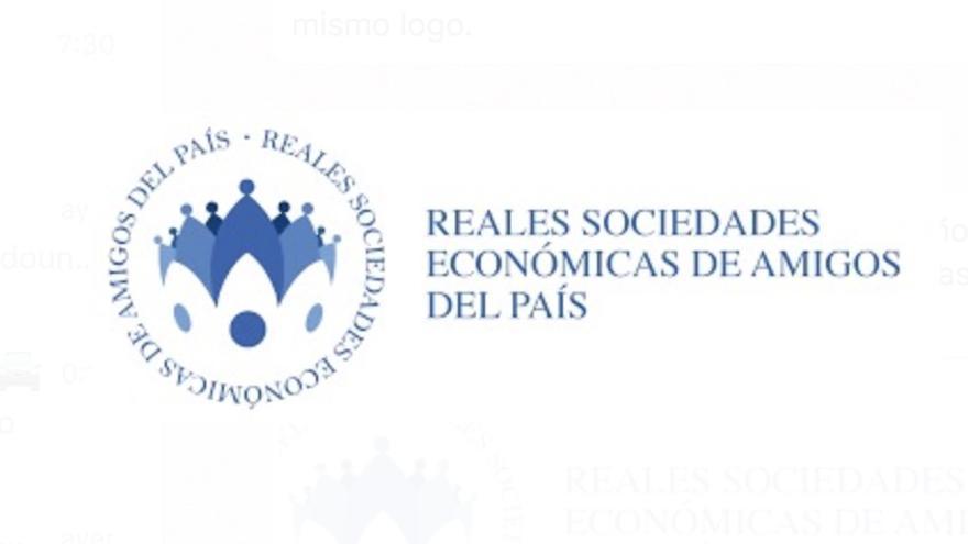 Logo de las Reales Sociedades de Amigos del País.