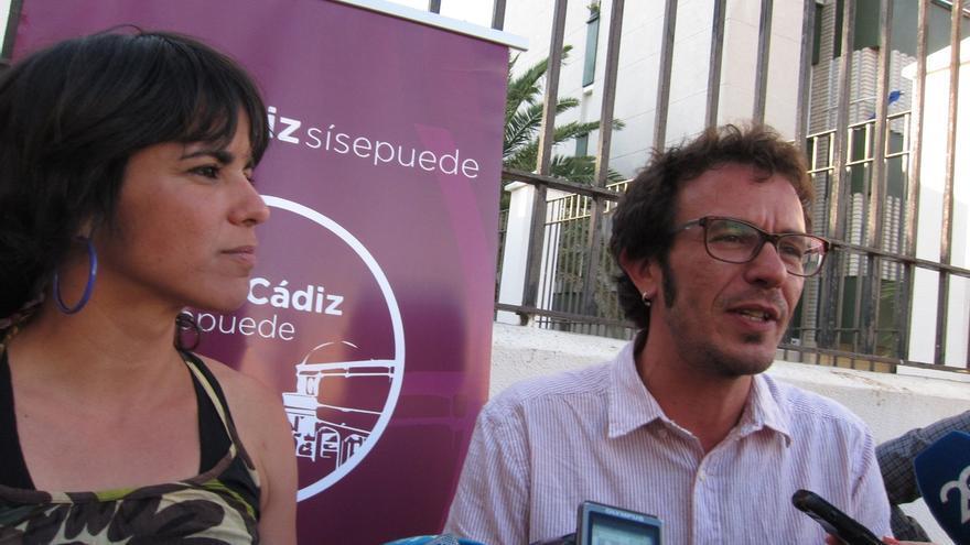 """'Por Cádiz sí se Puede' cierra campaña """"deseando dejar de decir y poder hacer"""" en el Ayuntamiento"""