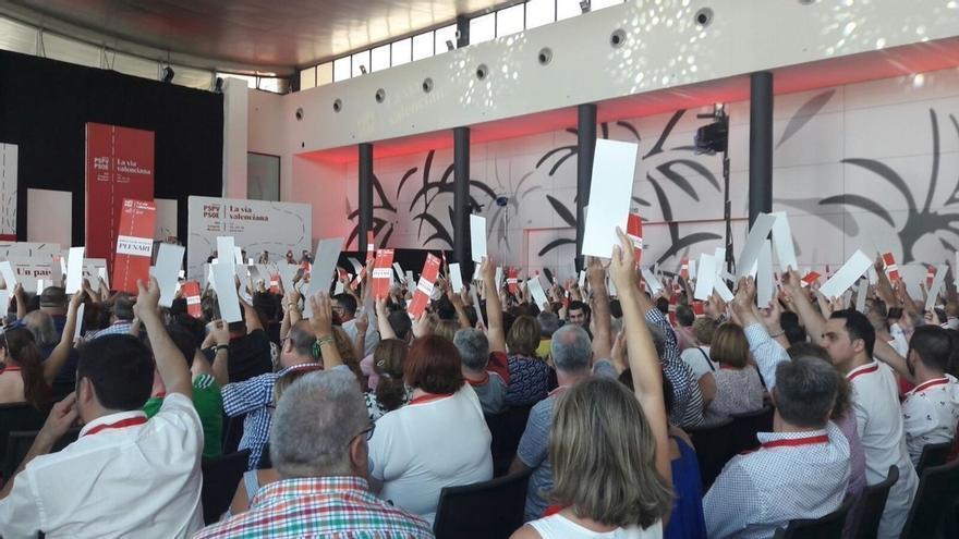 El PSPV aprueba por unanimidad su Ponencia Marco del XIII Congreso y pide ajustar la Constitución a la plurinacionalidad