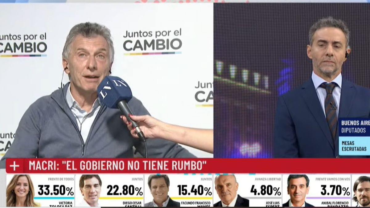 Mauricio Macri habló en La Nación+.