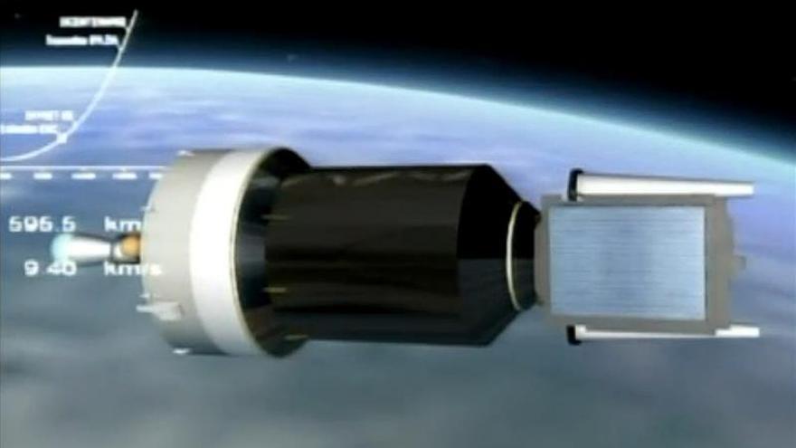 Se perdió el contacto con el satélite mexicano Centenario por un fallo en el cohete