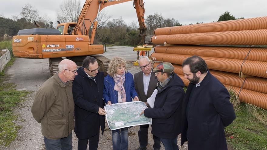 El saneamiento de Barreda estará concluido en 2018 con una inversión de 630.000 euros