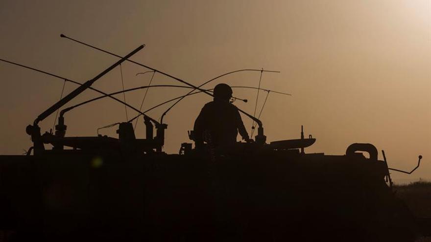 Israel ataca los cañones sirios en los Altos de Golán en respuesta a un disparo