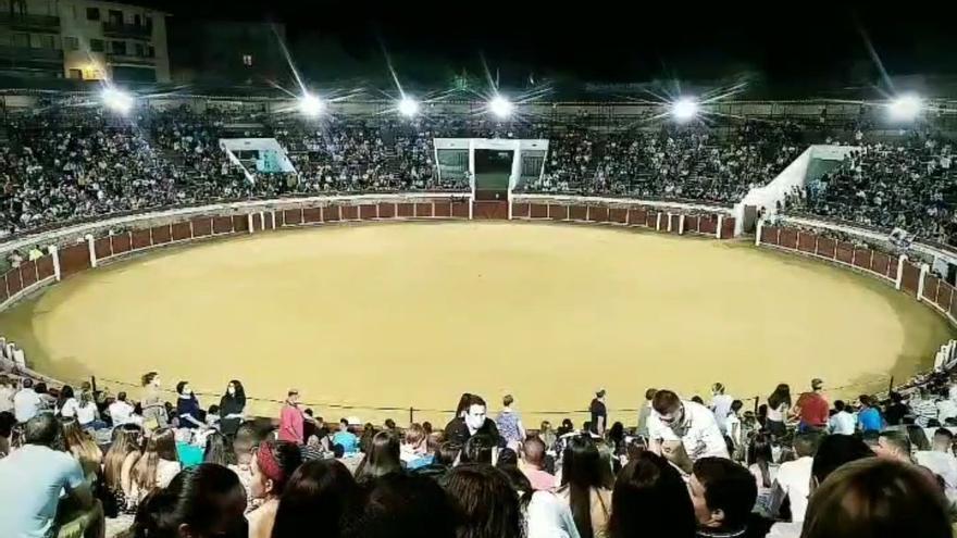 VÍDEO | Denuncian el incumplimiento de medidas sanitarias en un festejo taurino de Brihuega