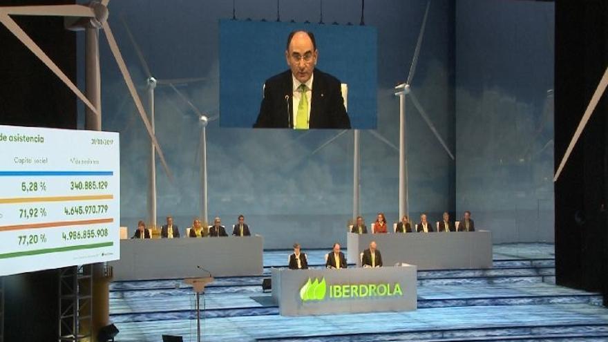 Galán anuncia unos resultados y un dividendo récord de Iberdrola para 2018