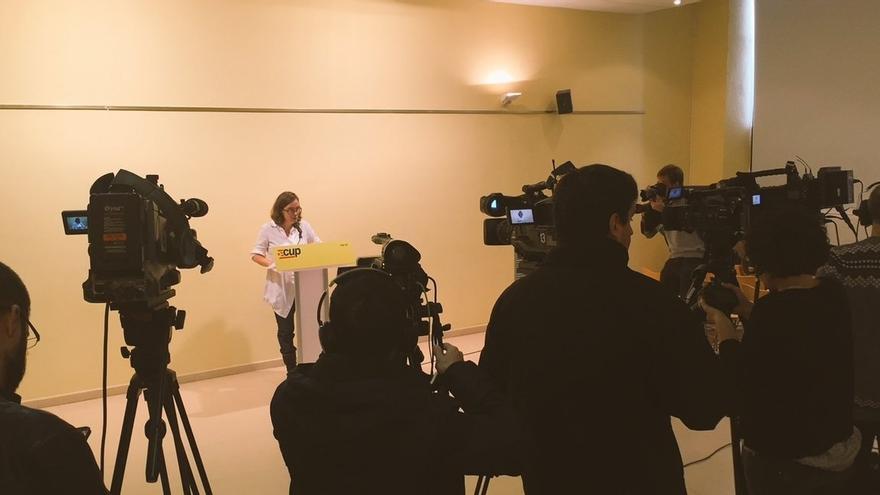 La CUP votará a favor de la entrada a trámite de los Presupuestos de la Generalitat
