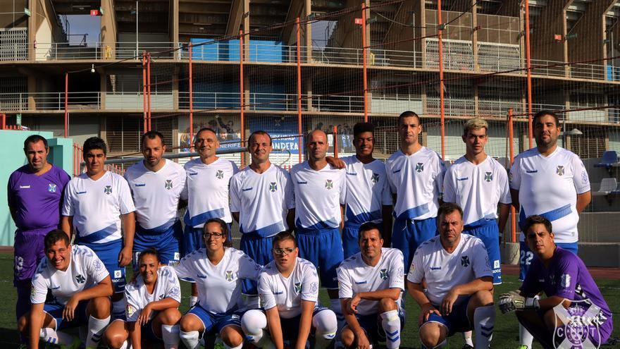 Plantilla del CD Tenerife EDI que toma parte en LaLiga Genuine Santander.