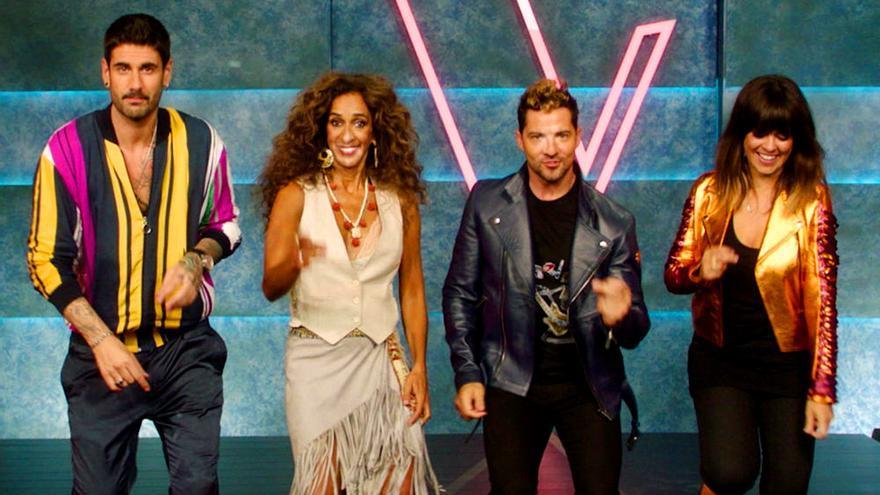 Antena 3 empieza a calentar 'La Voz Kids', con los coaches bailando