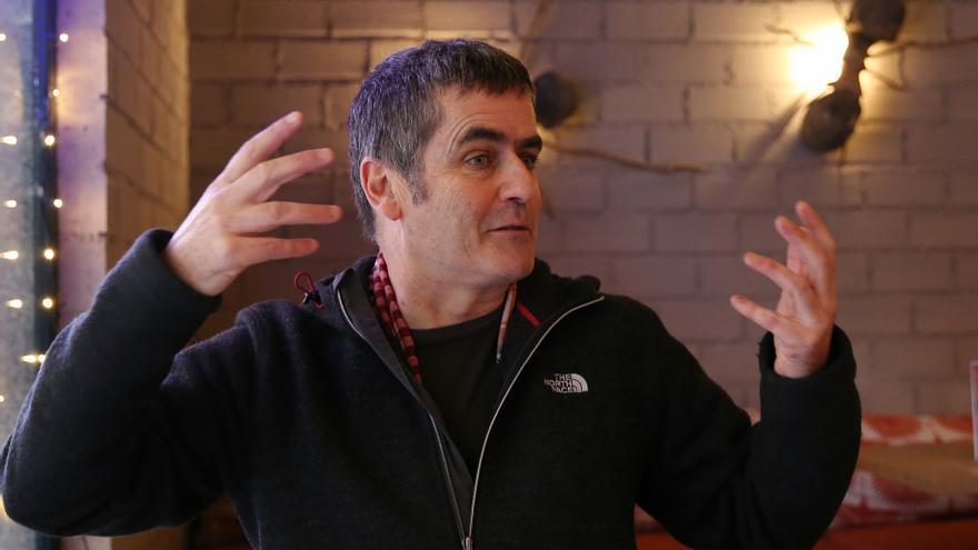 Giles Tremlett durante su conversación con eldiario.es