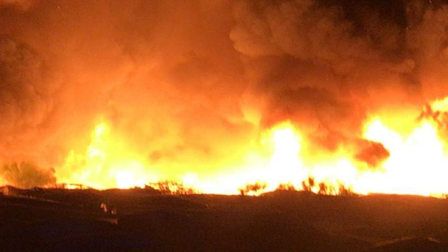 Tercer incendio en los asentamientos de Lepe en cinco días