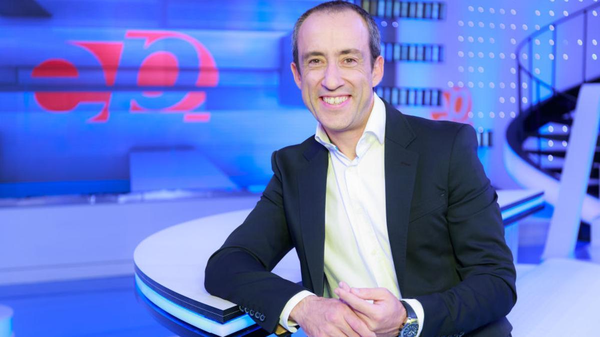Alfonso Egea, en el plató de 'Espejo Público'