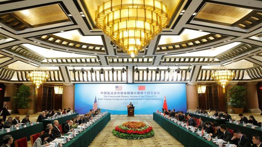 China y EE.UU. buscan cómo fortalecer la cooperación en justicia e interior