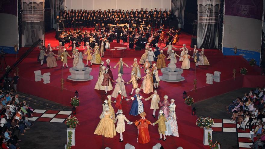 Imagen de archivo de una representación de El Minué.