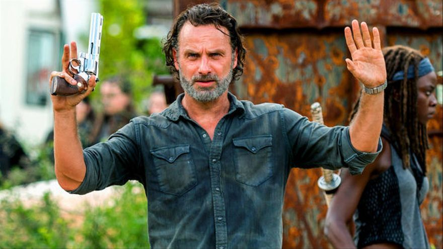 Rick Grimes en 'The Walking Dead'