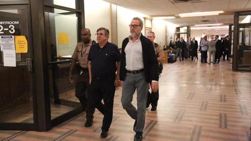 El empresario Luis Riu pasa a disposición judicial en Miami.