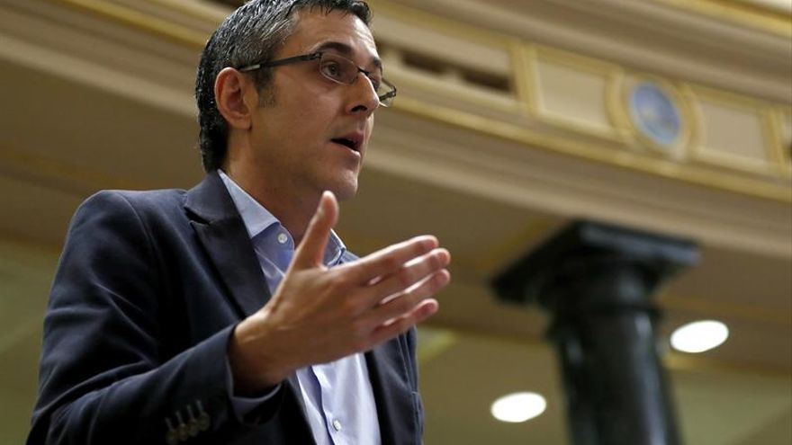 Madina y Trevín formalizan la renuncia a sus escaños en el Congreso