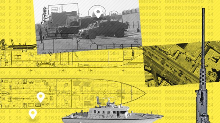 Los barcos Rodman 101 pueden llevar ametralladoras de calibre 12,7mm o superior.