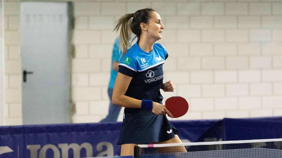 Marija Galonja, en medio de un partido
