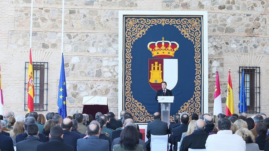Acto institucional de conmemoración de la Constitución en las Cortes de Castilla-La Mancha
