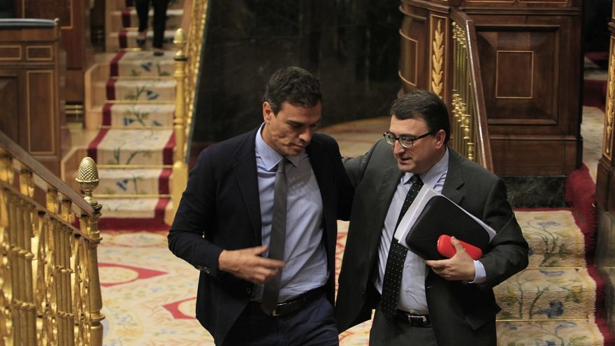 Sánchez llamó a Ortuzar para informarle de la moción de censura, pero el PNV no adelanta su voto