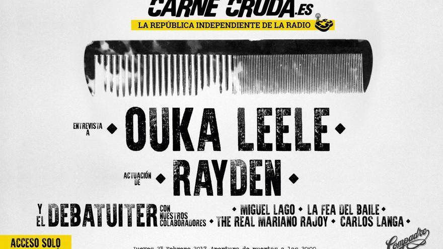 Carne Cruda Ouka Leele y Rayden