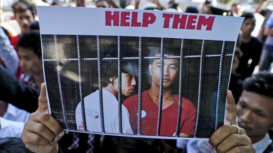 Birmania ayudará a defender a dos birmanos condenados a muerte en Tailandia