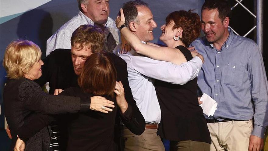 Araiz ve voluntad de cambio en Podemos, I-E y Geroa Bai, que debe liderarlo