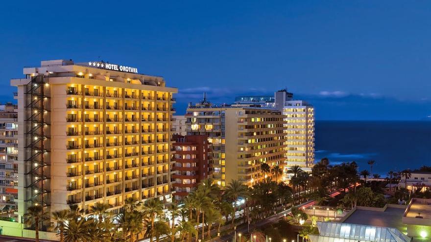 Imagen de archivo del hotel Orotava Palace, en Puerto de la Cruz y con gestión de la cadena Be Live