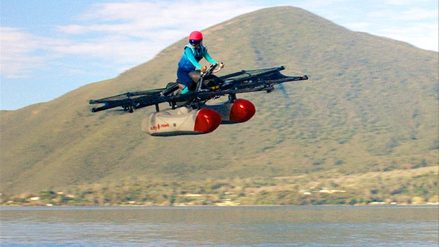 Kitty Hawk, otro de los proyectos de Thrun (Imagen: Kitty Hawk)
