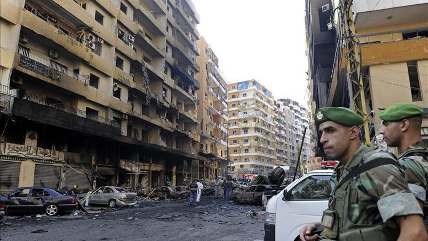 Diez heridos en un ataque aéreo sirio contra una región del noreste de Líbano