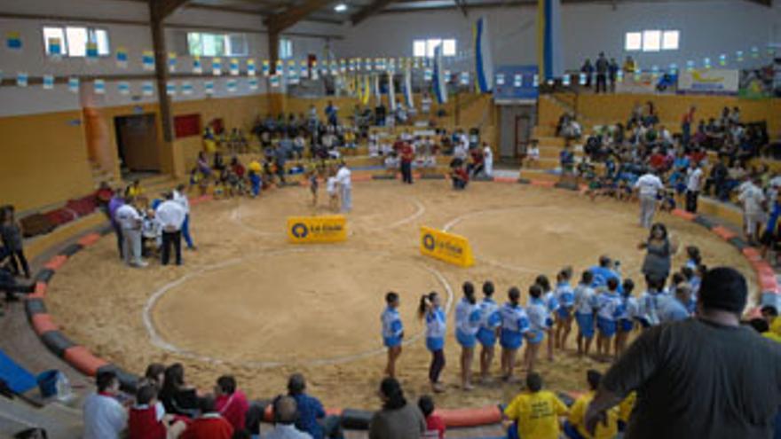 Vista del Terrero Municipal 'Amado Díaz Guillén'de Las Huesas. (ACFI PRESS)