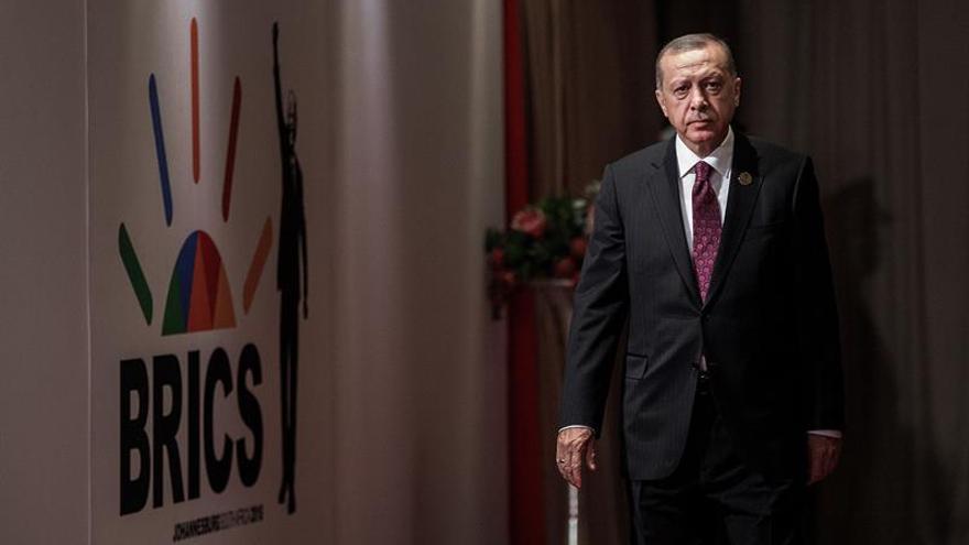 """Erdogan califica de """"evangelista"""" y """"sionista"""" el lenguaje de EEUU en el caso Brunson"""