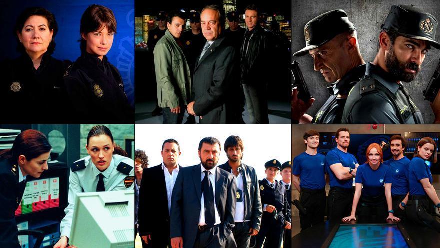 La policía retratada en la ficción nacional de TV