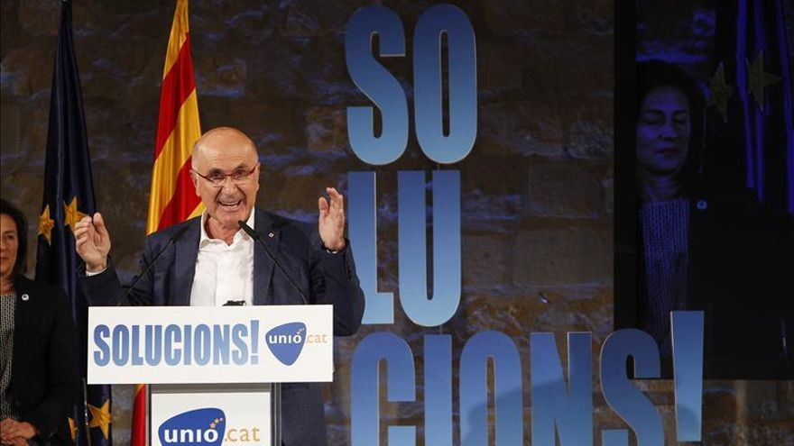 """Duran se erige en el voto útil para sacar a Cataluña del """"callejón sin salida"""""""